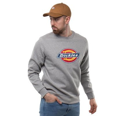 BLUZA DICKIES ICON LOGO SWEATSHIRT GREY MELANGE