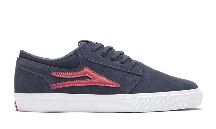 BUTY MĘSKIE LAKAI SS20 GRIFFIN NVY/RED SUEDE