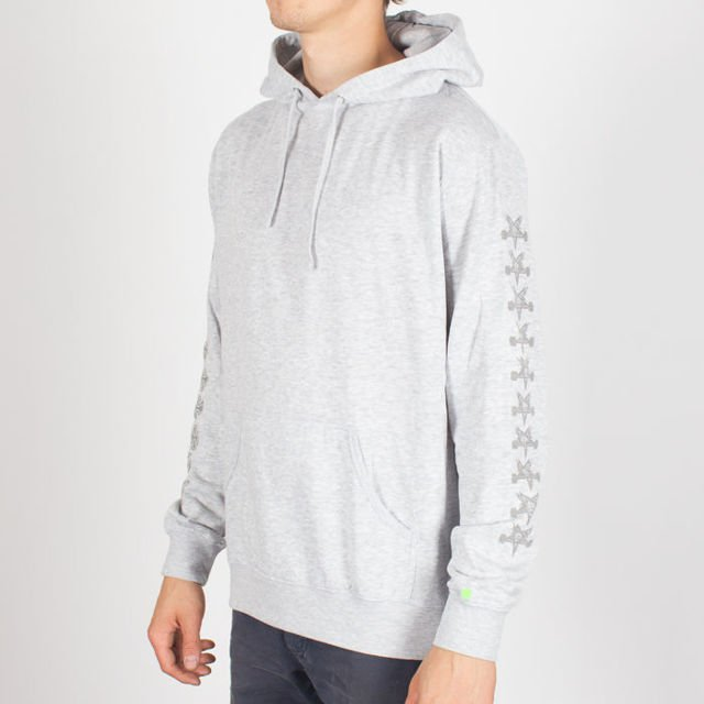 Bluza Independent Hood Thrasher Pentagram Cross Gre Hth