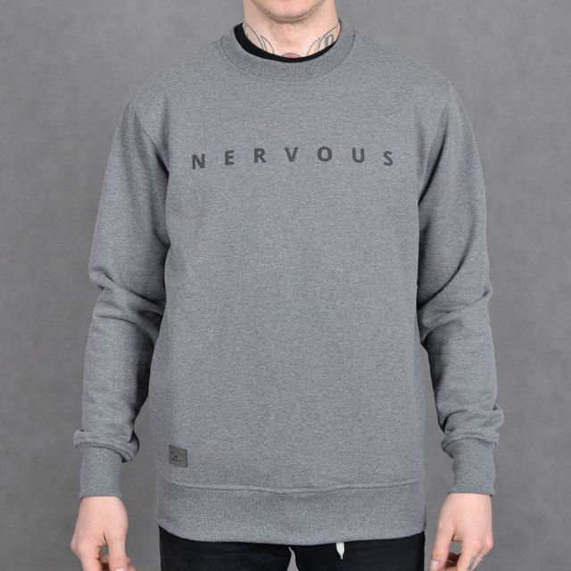 Bluza Nervous Crew Su17 Space grey