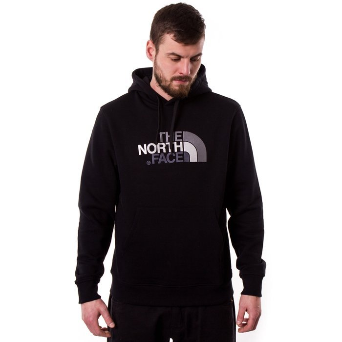 Bluza męska z kapturem The North Face Drew Peak PLV Hood black (NF00AHJYKX71)