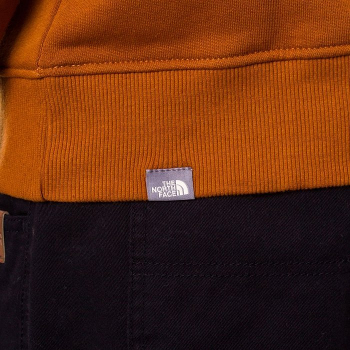 Bluza męska z kapturem The North Face Drew Peak PLV Hood caramel (NF00AHJYUBT)