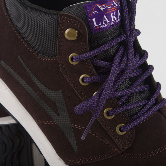 Buty Lakai Fa18 Griffin Mid Chocolate Suede