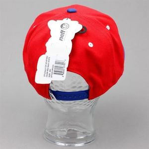 Czapka NEFF F13 Daily Cap Red Navy White
