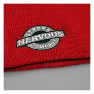 Czapka Nervous F12 Bean. Label Red