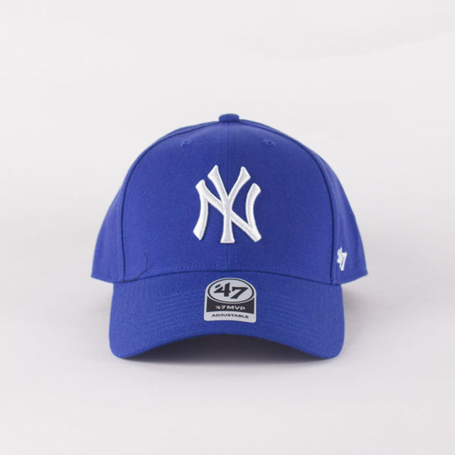 Czapka Z Daszkiem 47 Brand Mlb New York Yankees Mvp Royal