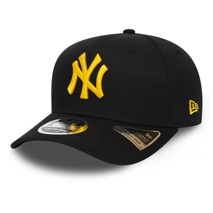 Czapka z daszkiem New Era 9FIFTY Stretch Snap New York Yankees black / yellow