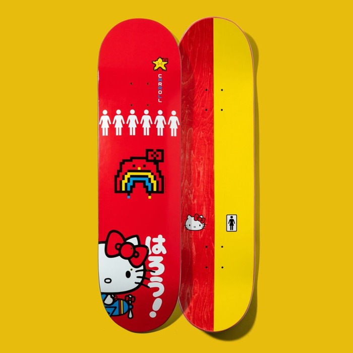 Deska Girl Carroll Hello Kitty red