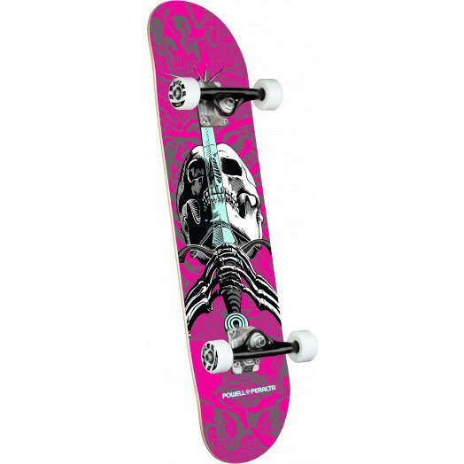 "Deskorolka Powell Peralta® Assy Skull & Sword One Off 7.5"" x 28.65"""