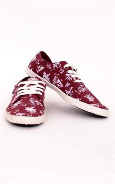 GLOBE BUTY RED BELLY BRICK RED/HAWAIIAN PRINT