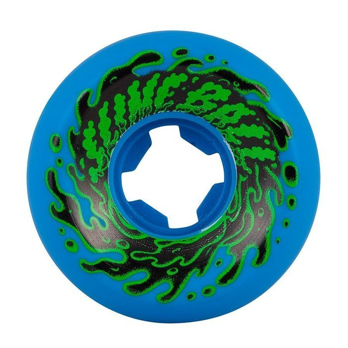 Koła do deskorolki Santa Cruz Slime Balls Double Take Vomit Mini 97A 54mm neon blue (4szt.)
