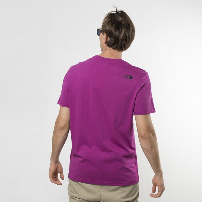 Koszulka męska The North Face Easy purple