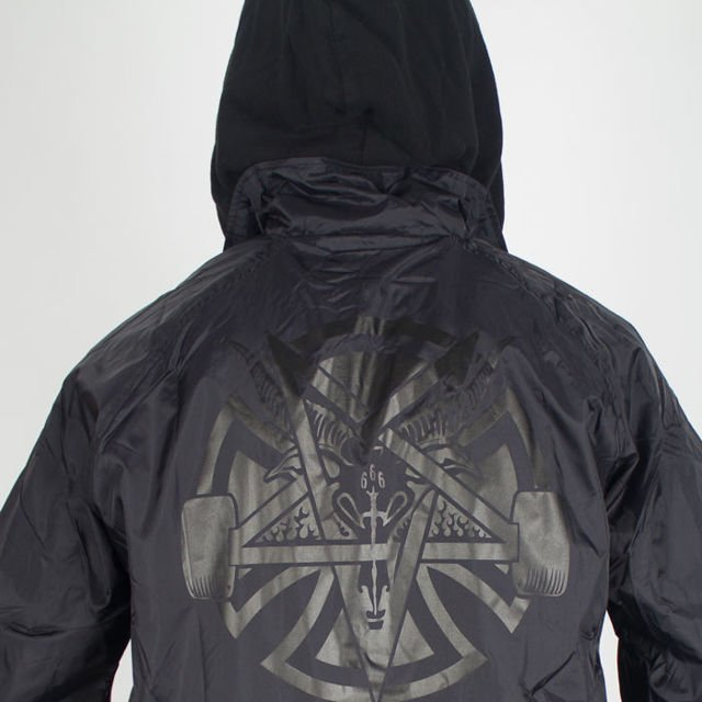 Kurtka Independent Thrasher Pentagram Cross Blk
