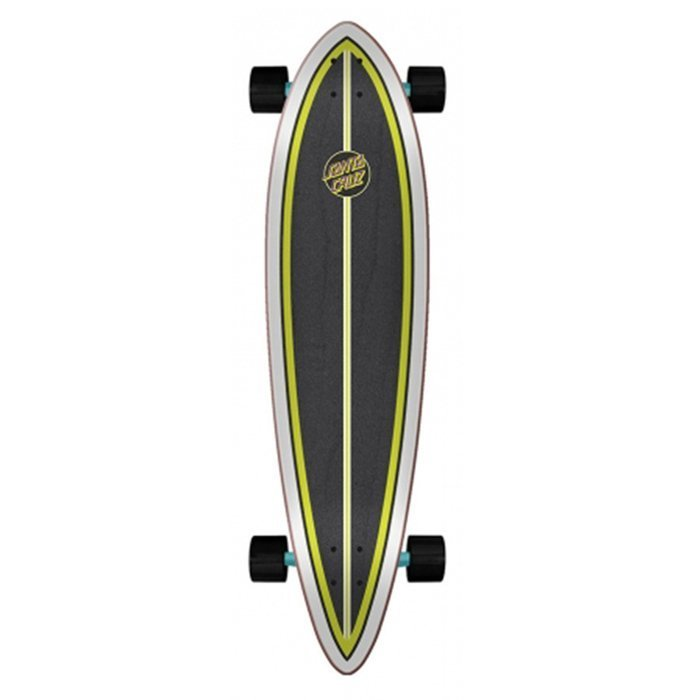 "Longboard Santa Cruz cruzer Shark Dot  Pintail 9.58"" x 39.0"""