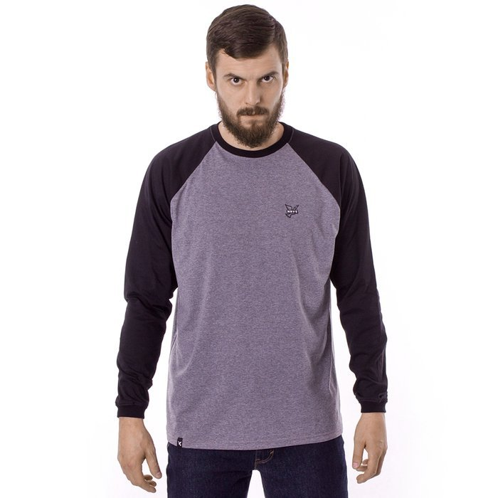 Longsleeve męski Nervous FA19 Icon grey / black