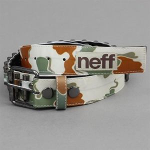 Pasek NEFF F13 Loaded Belt Camo