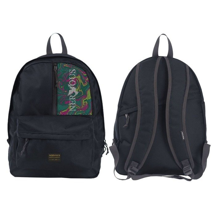 Plecak Nervous SS20 Skool Classic Acid black