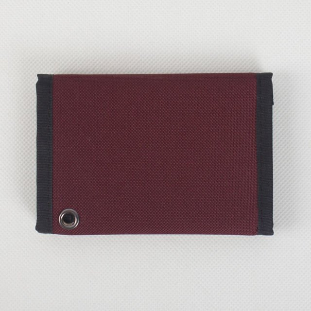 Portfel Nervous Fa18 Patch Maroon