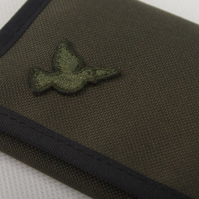 Portfel Nervous Fa18 Patch Olive