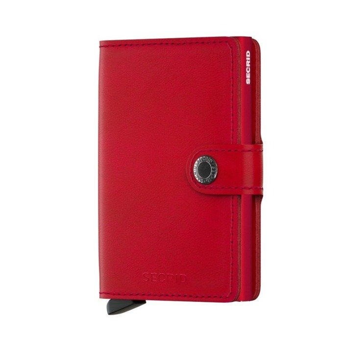 Portfel Secrid Miniwallet Original red / red